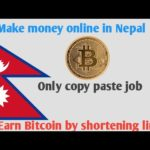 Earn free Bitcoin in Nepal by simple copy paste job🔥🔥🔥
