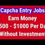 2capcha Review | Make Money Online | Earn Money Online | Captcha Entry Jobs | Without Investment