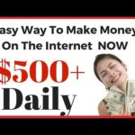 HOW TO MAKE MONEY ON THE INTERNET – (EARN $300 – $500 A DAY EASY)