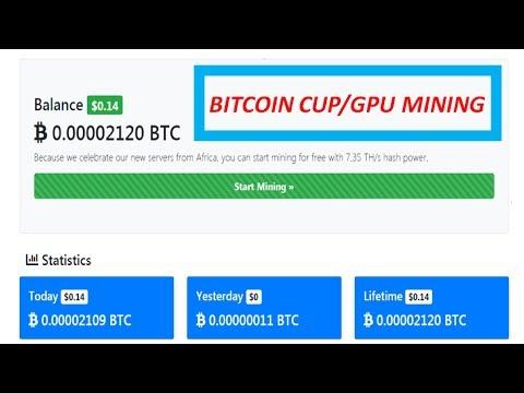 BtcNos Bitcoin CPU Mining | 0.0075 Daily Earning