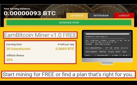 NEW! Bitcoin mining | Earn Bitcoin for free!