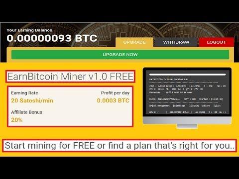 NEW! Bitcoin mining | Earn Bitcoin for free!