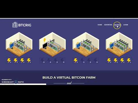 Build Bitcoin Mining Rig Earn Up to 0.013 Profit, Bitcoin Mining Game