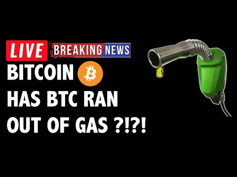 Has Bitcoin (BTC) Ran Out of Gas?! - Crypto Market Technical Analysis & Cryptocurrency News
