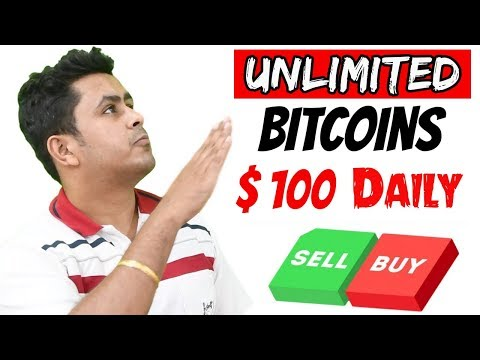 Earn Unlimited Free Bitcoins - $100 Dollars A Day - Bitcoin Earning Best Way