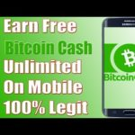 How To Earn 100% Free Unlimited BitCoin Cash On Mobile (BCH – BCC) 2018 Urdu/Hindi