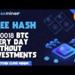 Maxminer : New Bitcoin Cloud Mining Like Btconline.io Free Plan