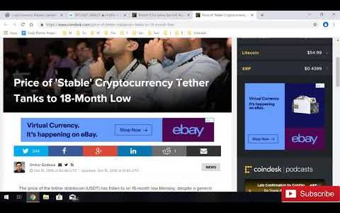 ✅CRYPTO Market NEWS BITCOIN PRICE Go Up & TETHER PRICE Dying