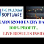 Make $2040 Every Day with Calloway software – No Scam Live result.