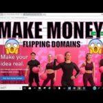 Make Money Online fast selling domain names 2018 | how to make money online fast | Domain flipping