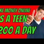 (2018) How to Make Money Online As A Teenager | Easy way to Make money Online Fast |
