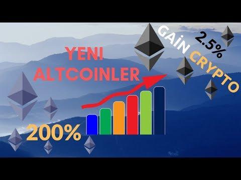 Yeni altcoinler, 200percent ve Gaincrypto Dapps, Bitcoin ve Kripto Para Haberleri