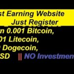 Top 2 Free Bitcoin Mining SIte | Free Signup Bonus | No Investment | Hindi urdu 2018