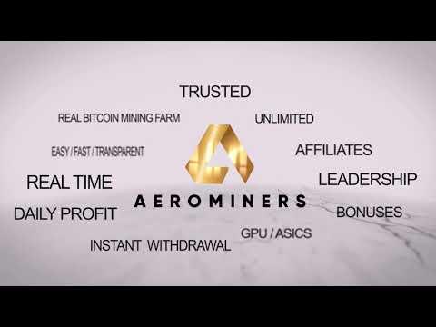 AEROMINERS = Platform Real Mining Bitcoin yg bertapak di Malaysia akan bermula pada minggu ini.