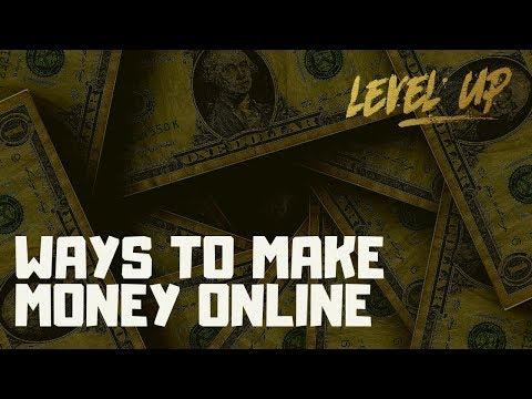 Ways to Make Money Online #entrepreneur #makemoneyonline #money