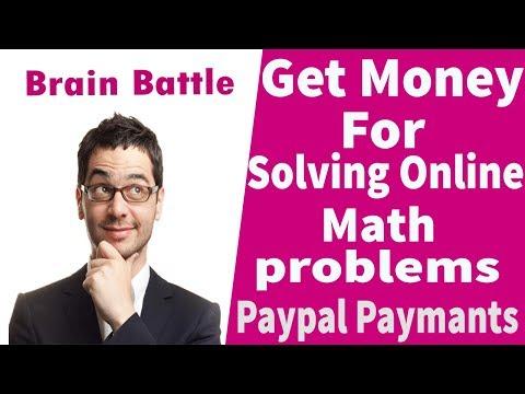 Make Money By Solving Online Math Problems l Amazing Paypal Cash App l Brain Battle App