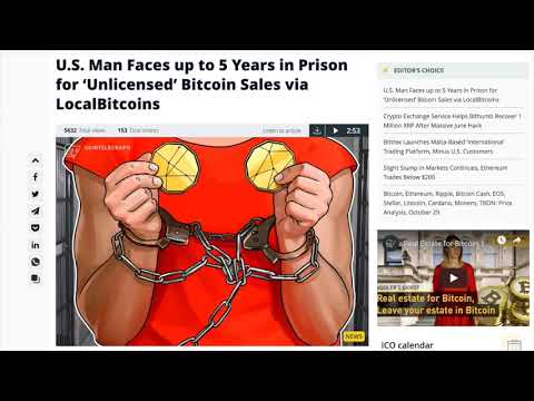 BITCOIN FLATLINE - $6,400 Stabilization & LocalBitcoins Merchant Arrests!
