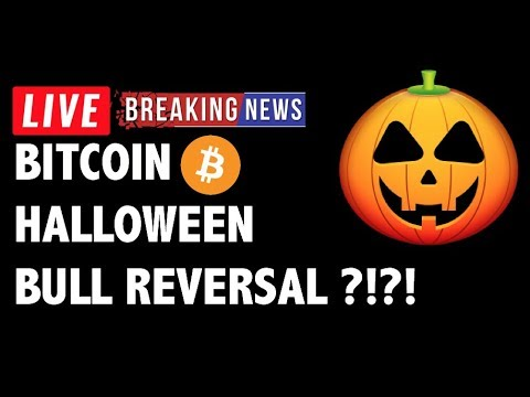 Halloween Bull Reversal for Bitcoin (BTC)?! - Crypto Market Technical Analysis & Cryptocurrency News