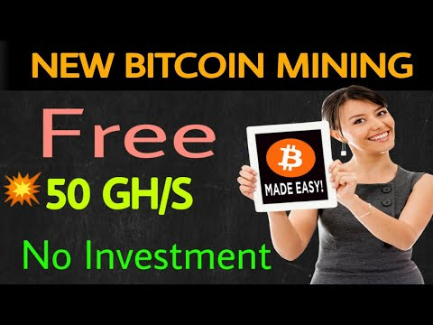 New Free Bitcoin Cloud Mining Site | Best Mining Site 2018
