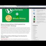 Bitcoin Mining Software 2018 Updated Free Download [100% Working]