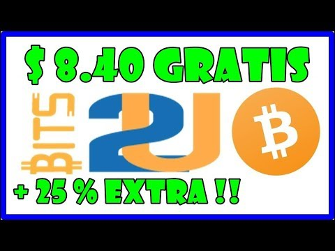 BITS2U BITCOIN MINING FREE $8.40 FREE FOR ALL USERS. ( 302UHAS FREE )