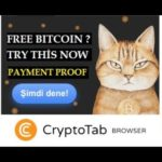 Cryptotab, Free Bitcoin Mining, Earn Free Bitcoin Satoshi, Browser Mining, Payment Proof