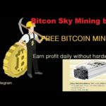 Bitcon Sky Mining | Free Mining bot | Earn profit daily without hardware