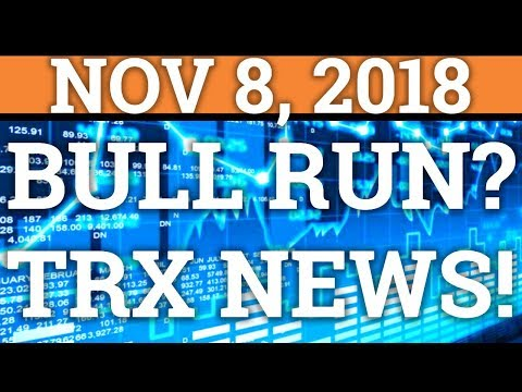 COULD WE SEE A CRYPTOCURRENCY CHRISTMAS BULL RUN? WEISS! TRON TRX, BITCOIN BTC PRICE + NEWS 2018