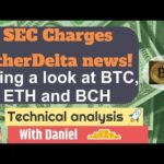 BTC - Bitcoin Technical Analysis - SEC + EtherDelta news. Charting ETH + BCH