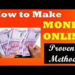 How to make MONEY ONLINE – Latest -. Easy , Proven Methods.!!