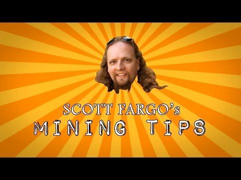 Scott Fargo's Mining Tips: ORGANIZATION!