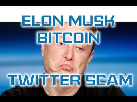 Elon Musk Bitcoin Twitter Scam