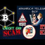 Hashrich bitcoin mining – SCAM BUSTER – SCAM ALERT