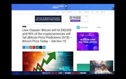 Bitcoin to $40k – Announcement Giveaway