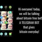 Bitcoin free bot in telegram Scam or legit!?!