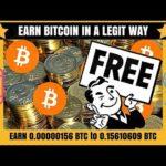 Earn Free Bitcoin Unlimited 100 legit Free Bitcoin Mining 2018