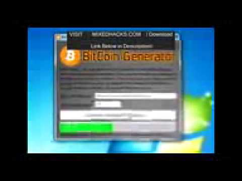 ▶ Bitcoins Hack BitCoin Generator Ianuary 2015 Download