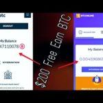 BTConline | Citybtc | btcpool | btconly | Free Earn $200 | Bitcoin Mining | Blockchain | Auto Mining
