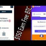 BTConline | Citybtc | btcpool | btconly | Free Earn $150 | Bitcoin Mining | Blockchain | Auto Mining