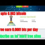 Satominer | scam or legit | Free earn Bitcoin 2018| Daily 0.0011 btc free