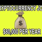 💰 Crypto Jobs Still Booming! – $80,000 Per Year