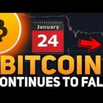 Why Bitcoin's Price Continues to Fall Before 24 January 2019