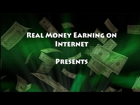 Real Money Earning on Internet – Cash-out Tutorial on PaidVerts