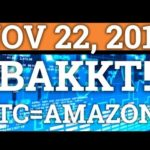 THE REAL REASON BAKKT WAS POSTPONED? BITCOIN BTC = AMAZON? (CRYPTOCURRENCY PRICE + NEWS 2018)