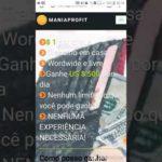 Novo App Que Da dinheiro Por clique (Make Money Online easily with maniaprofit.com)