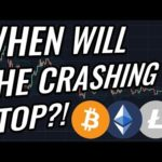When Will Bitcoin & Crypto Markets Stop Crashing?! BTC, ETH, XRP, BCH & Cryptocurrency News!