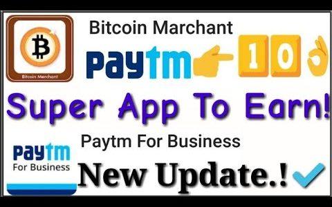 💥Bitcoin Merchant App | Paytm For Business App New Update | Telugu | 🎈🎈🎈