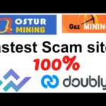Lastest scam | osturmining | gazmining | doubly | westlandstorage | new scam investment  companies
