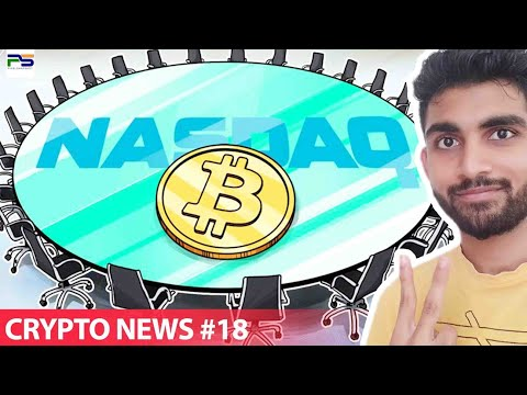 CRYPTO NEWS #19: Nasdaq's Bitcoin Futures, Ledger Opens New York Office, BTC on Tobacoo Store