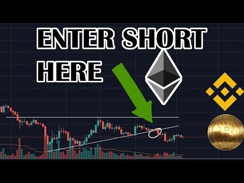 Shorting Ethereum, BITCOIN's next move, BinanceChain update!